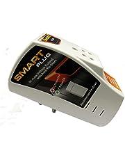 Smart Plug Fridge Protector 6A with Surge Protection upto 4000V (White)