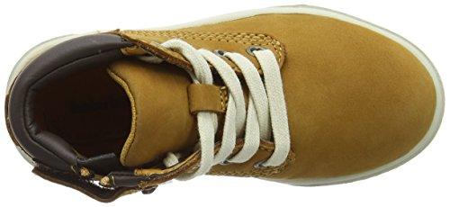 Timberland Groveton Leather, Bottes Chukka Mixte Enfant Jaune