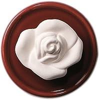 Duftstein Rose mit rotem Unterteller preisvergleich bei billige-tabletten.eu