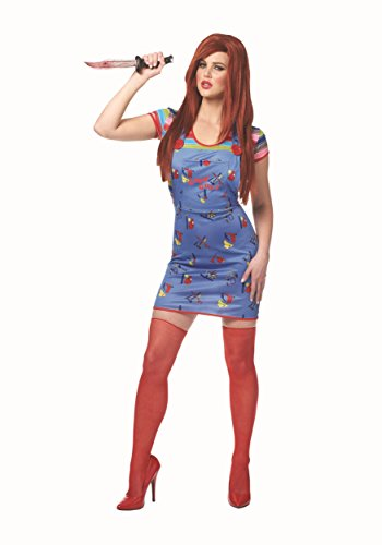 Costume Culture by Franco LLC Sexy Chucky Women's Fancy dress costume Medium