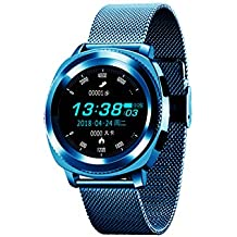 WShijie Smart Bracelet with Heart Rate Blood Pressure Detection Remote Photo Caller Information Reminder Waterproof Sports Watch Bluetooth Fitness Pedometer