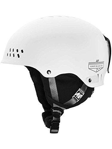 K2 Skis Damen Skihelm EMPHASIS white S 1054008.2.2.S Snowboard Snowboardhelm Kopfschutz Protektor