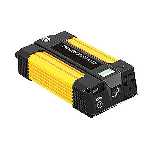 WPFC 2 IN 1 Auto Jump Starter Power Inverter, Tragbare Ladegerät Batterie Power Bank, 400W DC 12V Zu AC 220V Ac Power Inverter Ladegerät