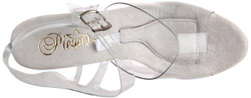 Pleaser TipJar 708-5 - Scarpa da donna con tacco altissimo e plateau Clr/Clr