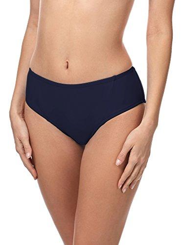 Merry Style Damen Bikini Slip 18 (Dunkelblau (6007), 38) Blauer Slip