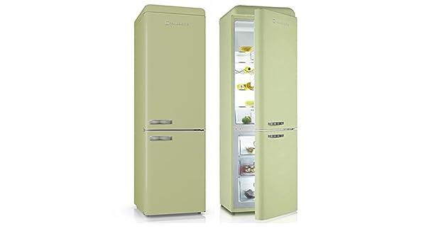 Medion Retro Kühlschrank : Kühl gefrierkombination kgk a kühlschrank grün amazon