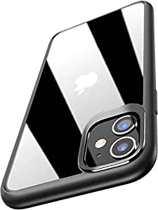 """Amozo iPhone 11 Cases and Covers   AutoFocus Series Transparent Soft Silicon TPU Sides   Shock Proof Cover with Camera Protection for iPhone 11 (6.1"""")"""