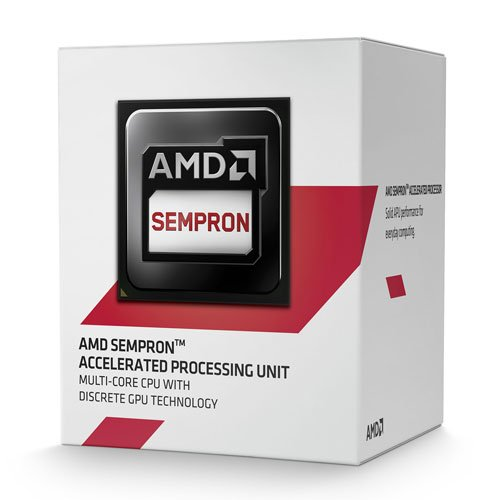 AMD Sempron 3850 - Procesador (AMD Sempron, 1,3 GHz, Socket AM1, Portátil, 28 NM, 64 bits)