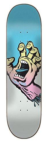 Santa Cruz Skate Pastell Screaming Hand 21,8x 82cm Skateboard Deck