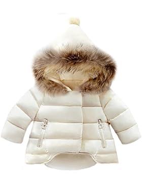 SMITHROAD Winter Mantel Winterjacke Mädchen Jung Neugeborenes kleikind babay Oberbekleidung Verdickte mit Spitzer...