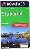 KOMPASS Wanderführer Stubaital: Wanderführer mit Extra-Tourenkarte 1:25.000, 55 Touren, GPX-Daten zum Download - Wolfgang Heitzmann