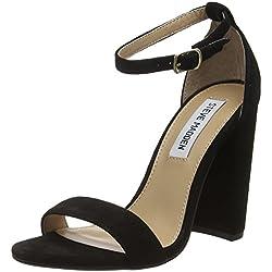 Steve Madden Footwear Damen Carrson Pumps, Schwarz (Schwarz), 6 UK (39 EU)