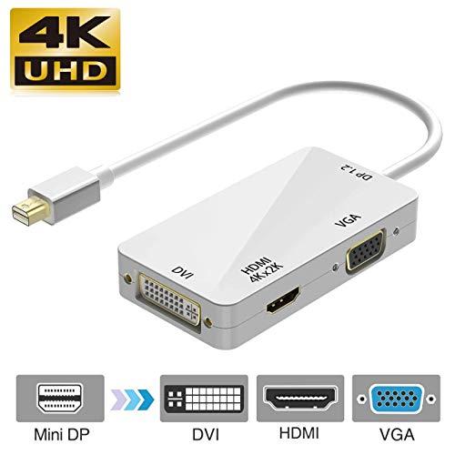Blizim Adaptador Thunderbolt Mini Displayport 4K HDMI/VGA/DVI