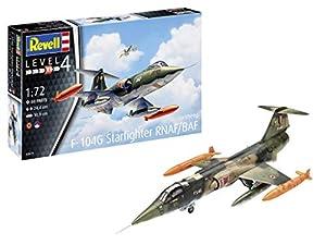Revell-F-104 G Starfighter NL/B , Escala 1:72 Kit de Modelos de plástico, Multicolor, 1/72 (Revell 03879 3879)