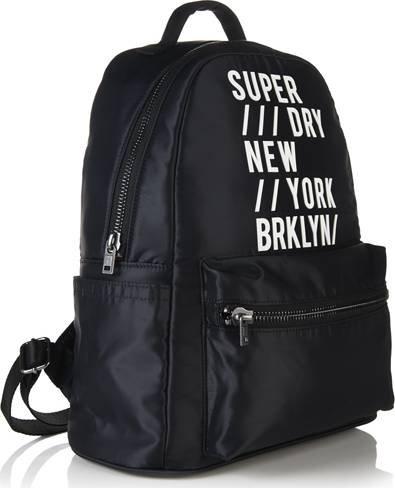 Superdry Mujer 90de deporte mochila negro