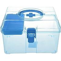SODIAL(R) Blaue Freie Plastik Familien Gesunder Kasten Medizin Kasten Pille Erste Hilfe Kasten preisvergleich bei billige-tabletten.eu