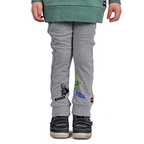 Preisvergleich Produktbild LEGO Star Wars Both Sides Sweathose Preston 151 für Kinder Jogginghose Baumwolleolle grau - 134