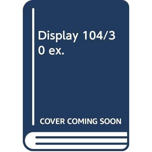 Display 104/30 ex.