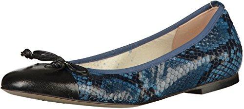 Peter Kaiser 14707 Damen Ballerinas Blau(Schwarz/Blau)