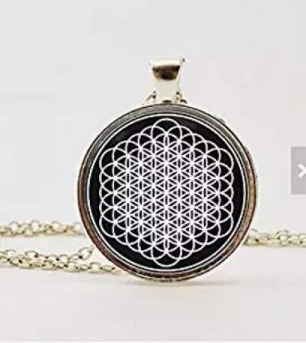 Bring Me The Horizon Sempiternal Blume des Lebens Anhänger Halskette oder Schlüsselanhänger
