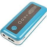 Mtec Batterie kompakt Ladegerät 5600mAh externe Bank der Energie mit einer USB Ausgang 1A für das Handy in BLAU para. B. Pokemon Pokemon Go