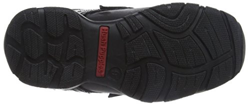 Hush Puppies Jungen Freddy 2 Junior Slipper Schwarz (Black)
