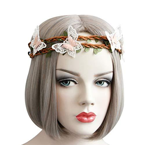 band Seaside schöne Spitze Blatt Dekor Stirnband Prop für Urlaubsreisen Dance Party ()