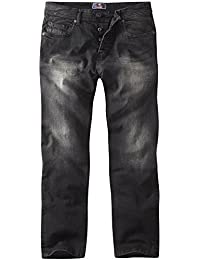 Charles Wilson Straight Fit Washed Denim Essential Jeans