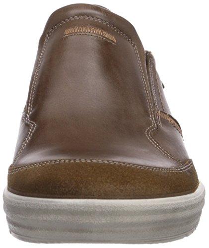 Ecco Fraser Cocoa Brown/Cocoa Brown Oil S/Sam, Baskets Basses homme Marron - Braun (CocoaBrown/Cocoa Brown Oil S/Sam55778)