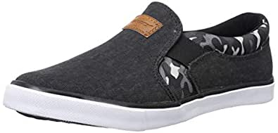 Sparx Men's Black/Camo Loafers-6 UK (39 1/3 EU) (SC0428G_BKCE0006)