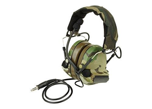AIRSOFT Ztactical ZSordin Headset MIC BOOM RADIO PELTOR COMTAC 2 MULTICAM MTP MC