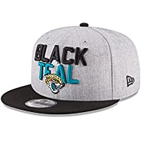 4ce7d3340 New Era NFL JACKSONVILLE JAGUARS Authentic 9FIFTY Onstage 2018 Draft  Snapback Cap