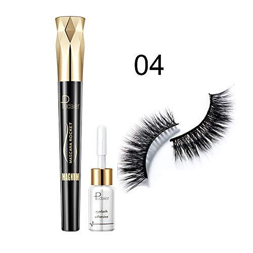 Femmes Beauté Maquillage Outil Étanche Faux Cils Cils Maquillage Adhésif Cils Colle Colle Mince Pour Un Usage Familial - Blanc