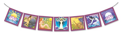decorativo-preghiera-good-karma-dea-bandiera-degli-elementi