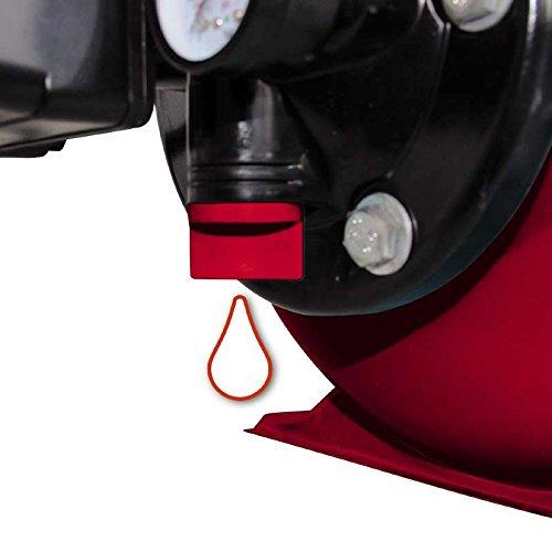 Einhell Hauswasserwerk GC-WW 6538 (650 W, 3800 l/h Fördermenge, max. Förderdruck 3,6 bar, Druckschalter, Manometer, 20 l Behälter) - 5
