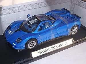 Motormax Pagani Zonda C12 C 12 Blau Mondo Motors 1 18 Motor Max Modellauto Modell Auto Spielzeug