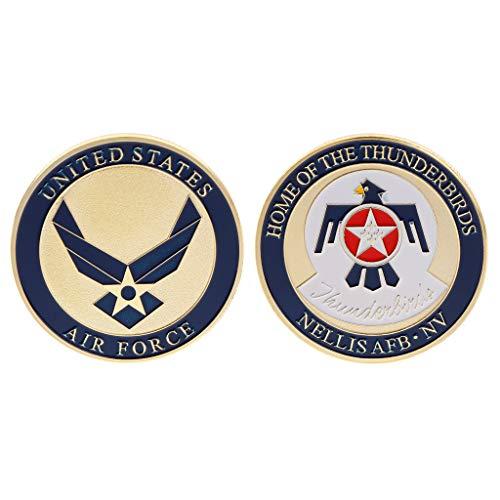 Oukerst commemorative coin air force marine stati uniti d'america placcato lega collezione souvenir monete argento oro