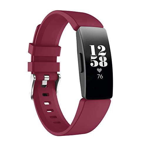 d Sportarmband Zubehör Silikon Ersatzband Uhrenarmband Armbänder Ersatz für Fitbit Inspire HR/Fitbit Inspire ()