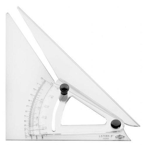 Alvin-Computing trig-scale verstellbar Dreieck (anlx708K)
