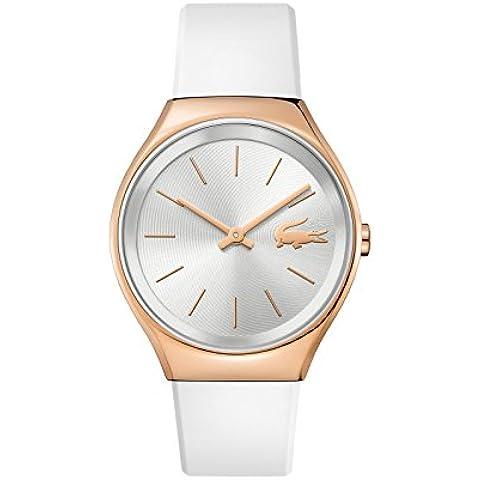 Reloj mujer Lacoste–Valencia–Pulsera de silicona blanco–38mm–2000966