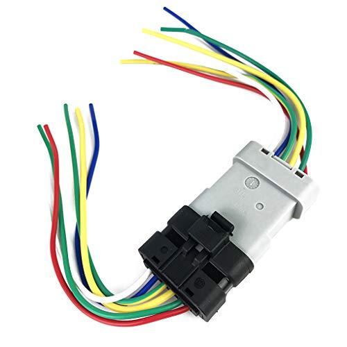 Topker Sostituzione Window Motor Module Regolatore Cablaggio Plug Treccia Cablaggio del connettore per Renault Clio Megane Scenic