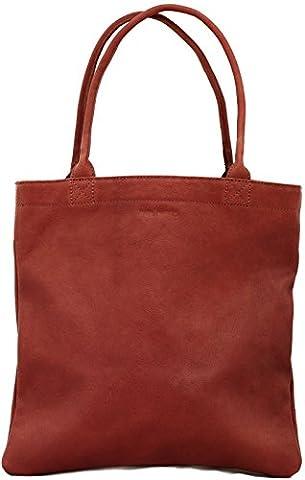 MON PARTENAIRE S Brun sac à main cuir forme cabas style vintage PAUL MARIUS