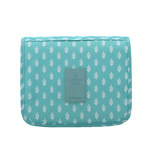 b9a877e173 Hanging Toiletry bag Portable Overnight Wash Bag Cosmetic Organizer for  Women and kids with Multi Pockets