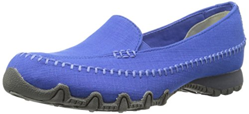 Skechers Bikers Croce camminata Memory Foam Slip-on Mocassino