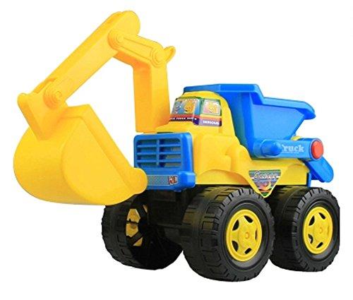 Radbagger Kunststoff Bagger Modell Spielzeug Spielzeug Fahrzeuge Strand-Spielze