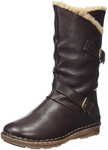 Lotus Women's Jolanda Slouch Boots, Brown (Brown Leather), 6 UK 39 EU