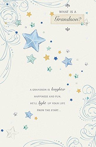 WAS IST EIN Grandson Geburtstagskarte
