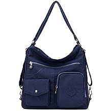 Outreo Mujer Bolsos de Moda Impermeable Mochilas Bolsas de Viaje Bolso Bandolera Sport Messenger Bag Bolsos