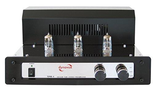 Dynavox Röhrenverstärker TPR-1 Chrom im Test