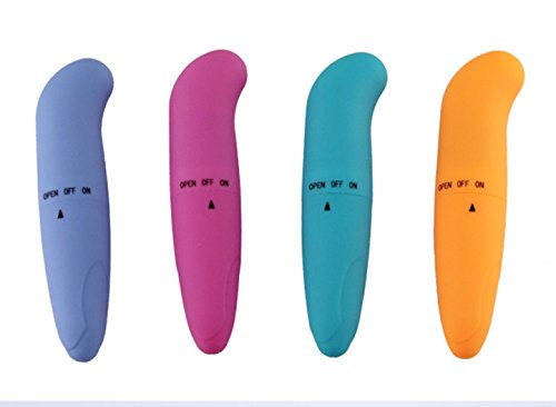 Vlunt Silikon Vibrator G-Punkt Vibrator extra leise! Farbe Random (A) -
